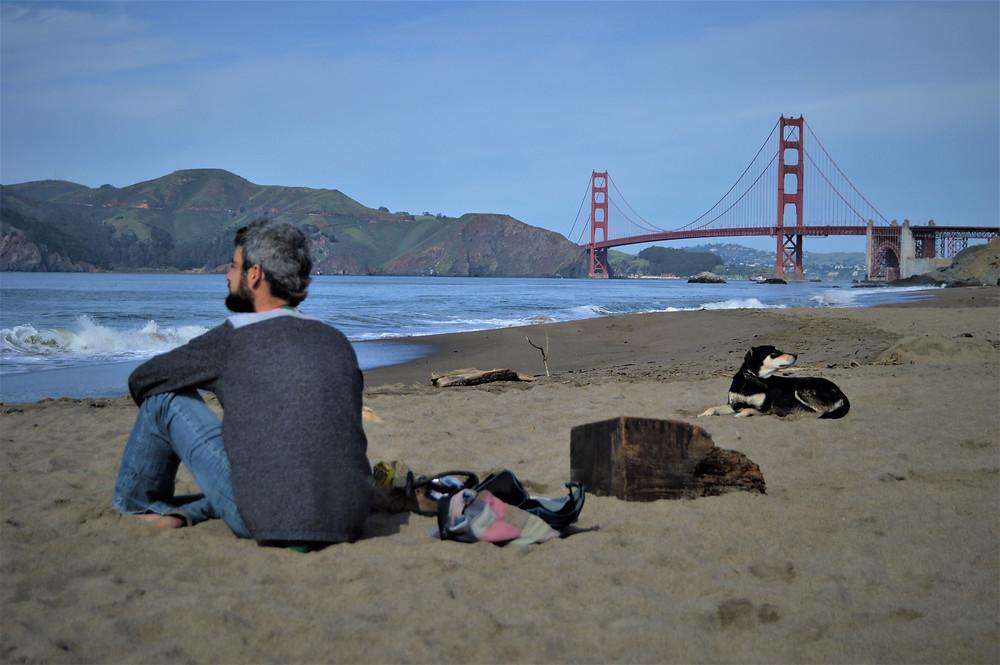 San Francisco con perro