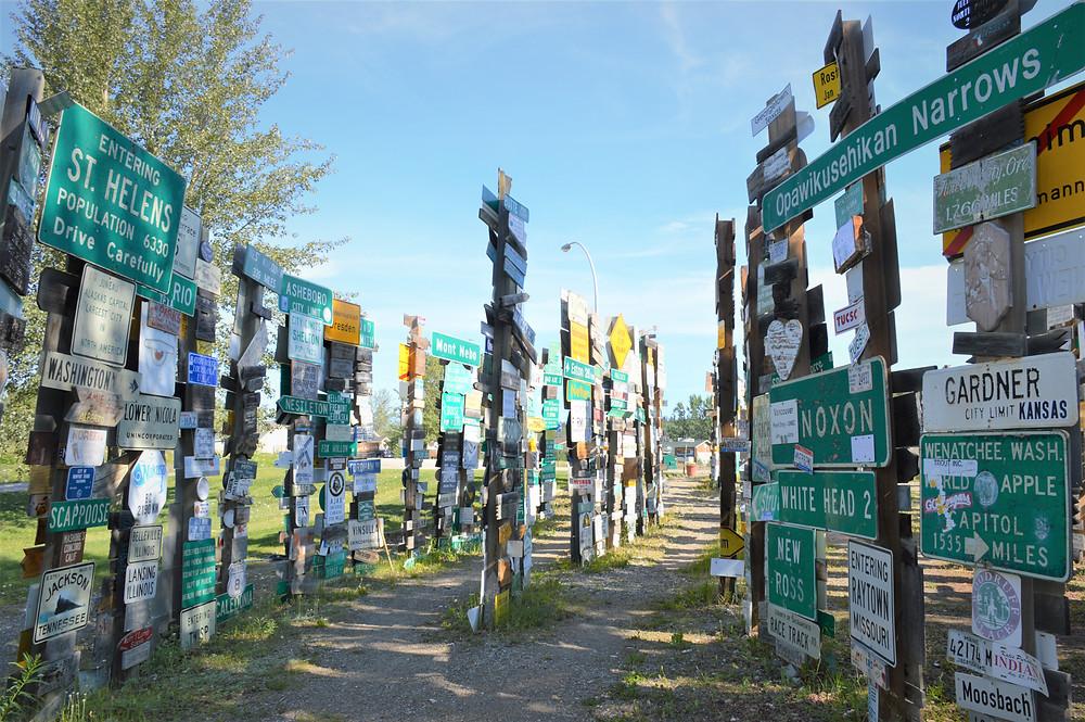 Signpost Forest Watson Lake