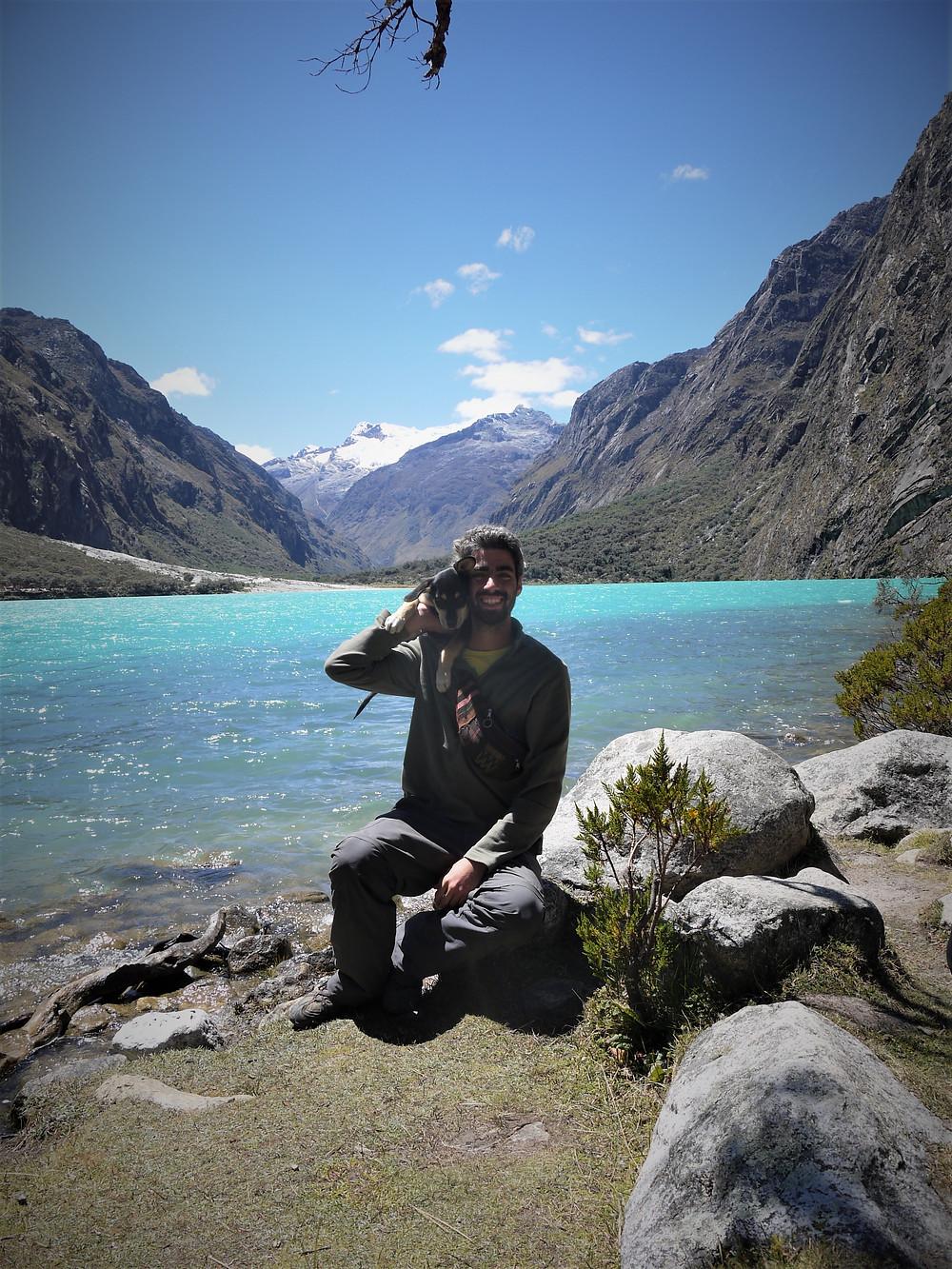 Huascarán NP hike with my dog