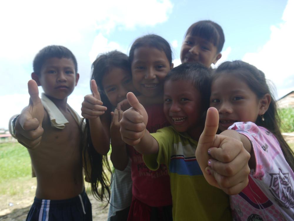 Peruvian kids