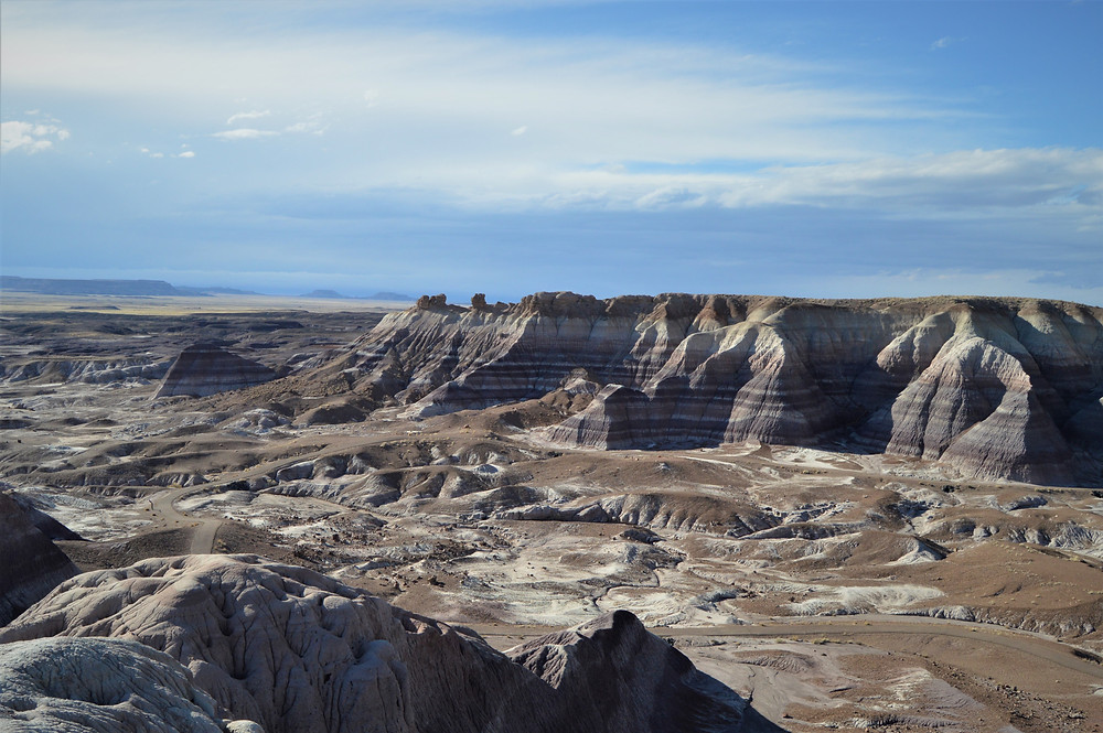 Painted Desert and Petrified Forest NP