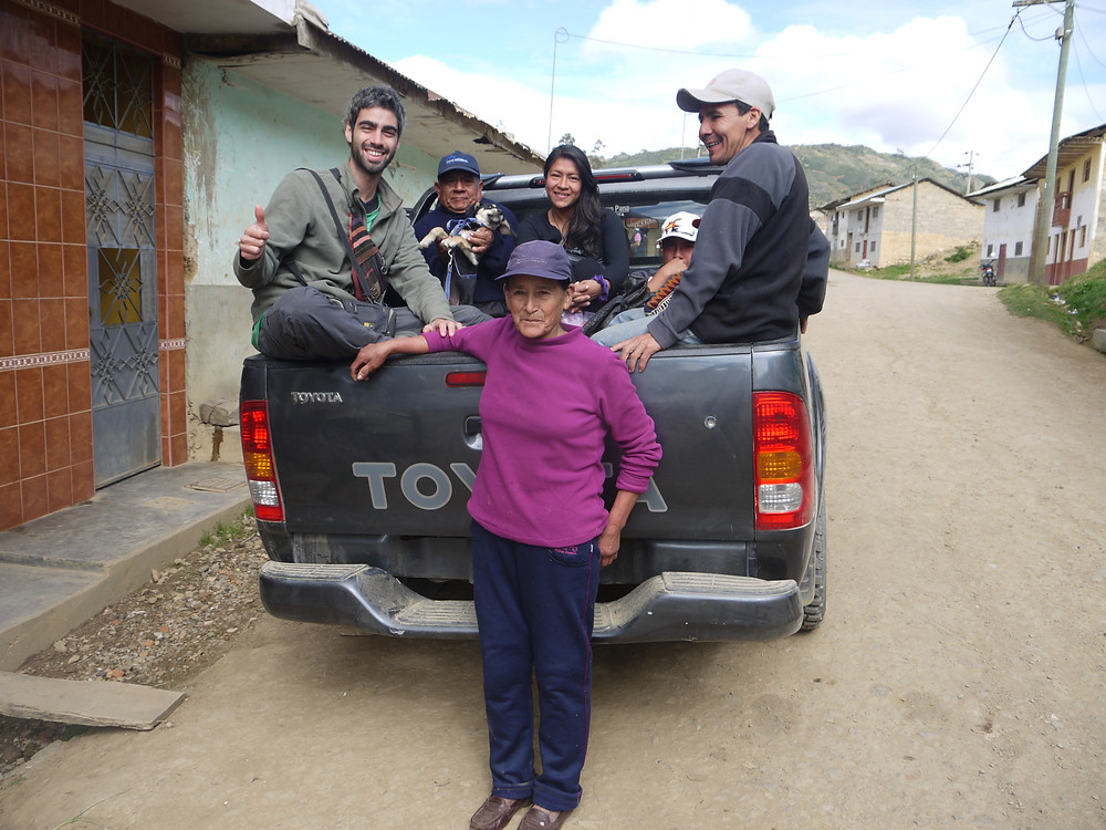 Hitchhiking Cohechán Peru