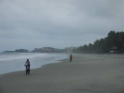 Ecuador continental, itinerario
