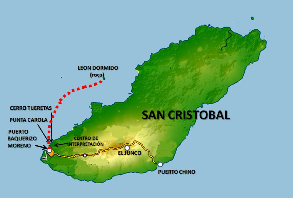San Cristóbal mapa