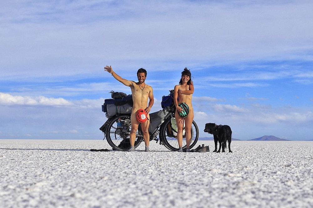 Traveling with dog ciclovoladores