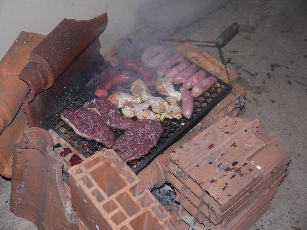 Brazilian churrasco barbecue