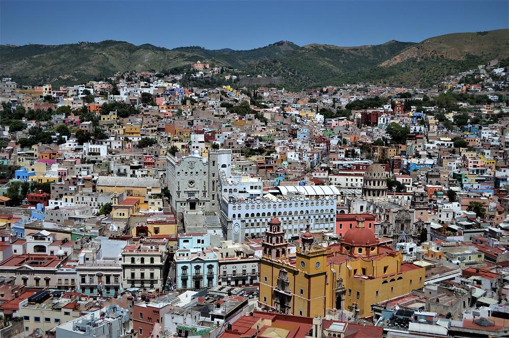 Guanajuato from Cerro Panecillo