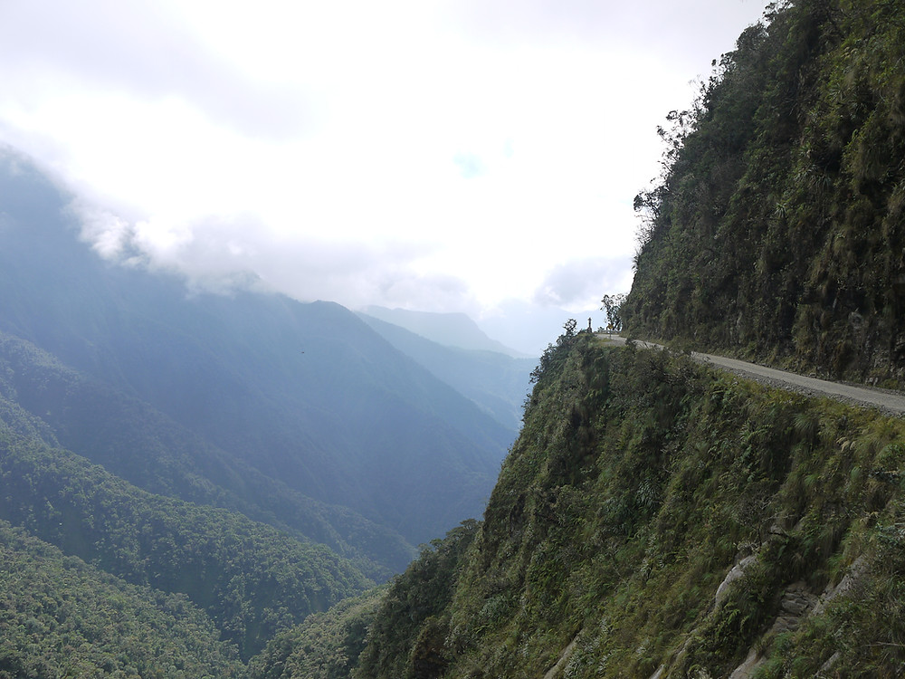 Coroico and Death Road