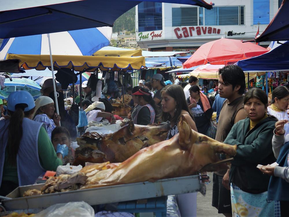 Mercado de Otavalo Ecuador