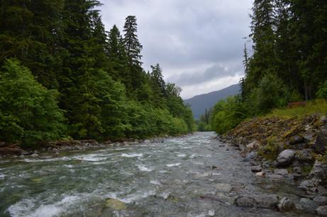 Norte de British Columbia, itinerario