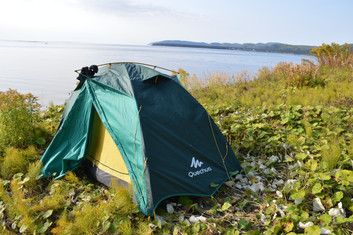 Tips for traveling with a tent