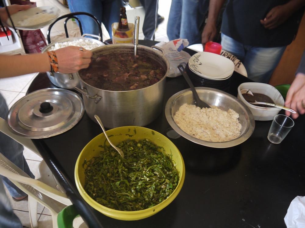 Homemade feijoada Brazil