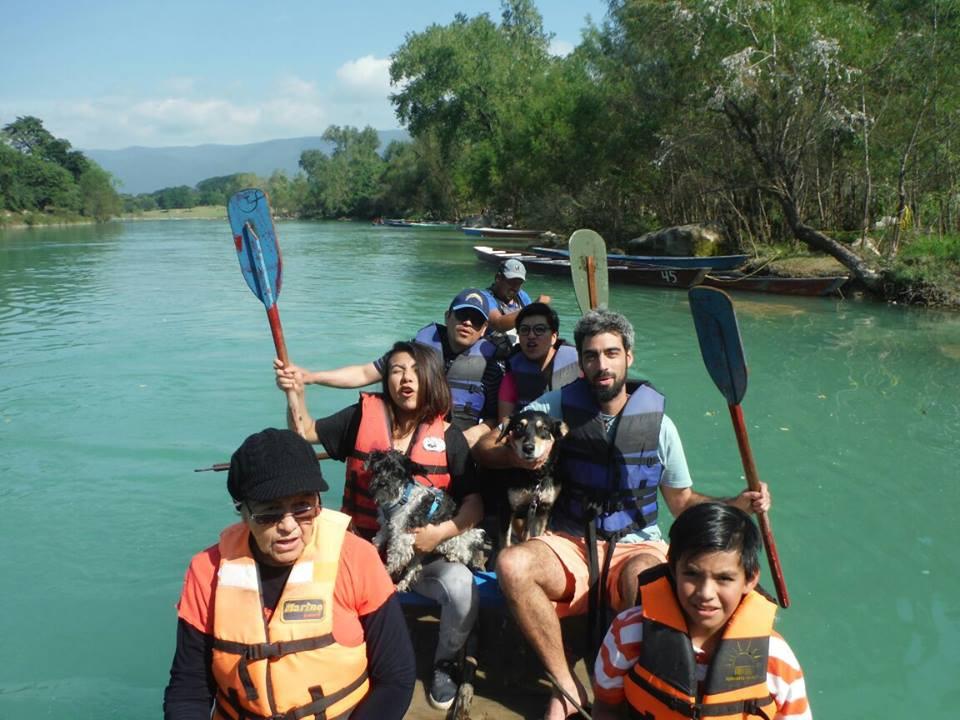 Tour Cascadas de Tamul con perro