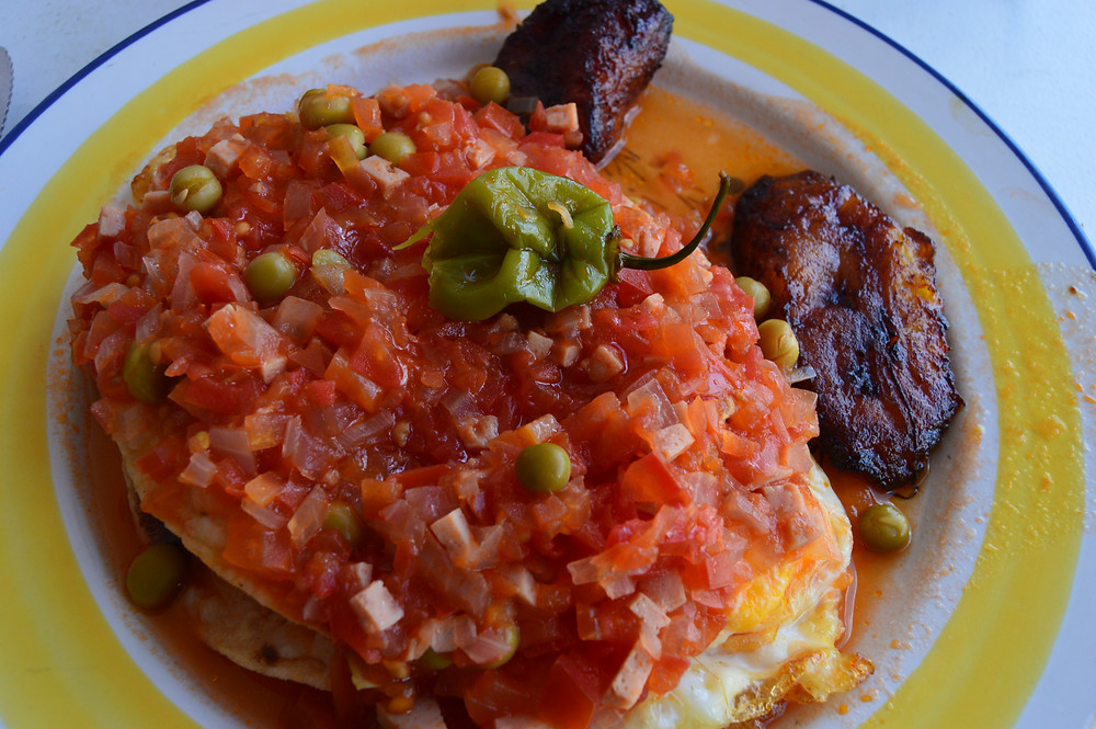 Huevos motuleños in their place of origin: Motul