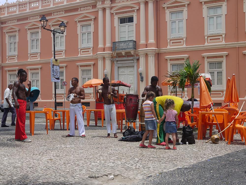 Capoeira calles Salvador de Bahia