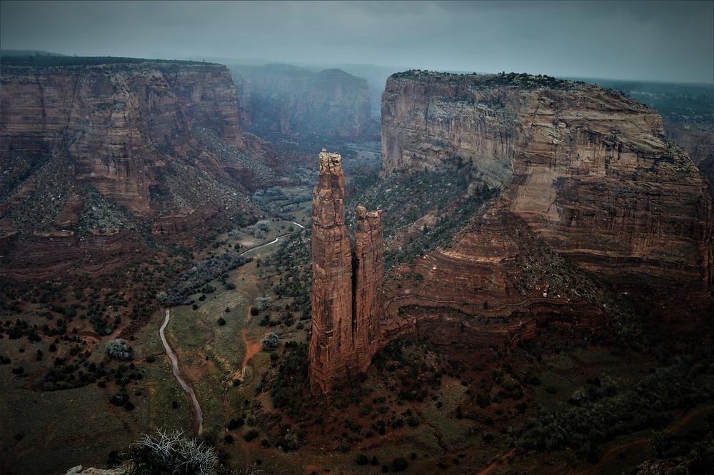 Spider Rock Canyon de Chelly