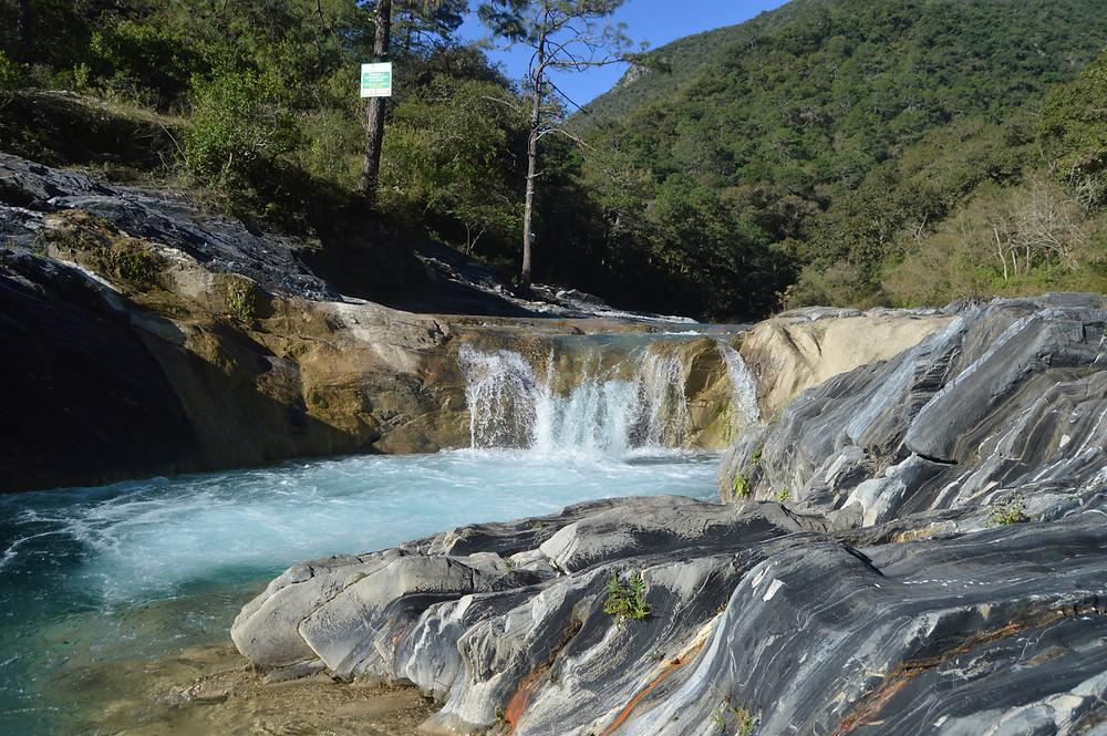 Cascada de El Chipitín Santiago