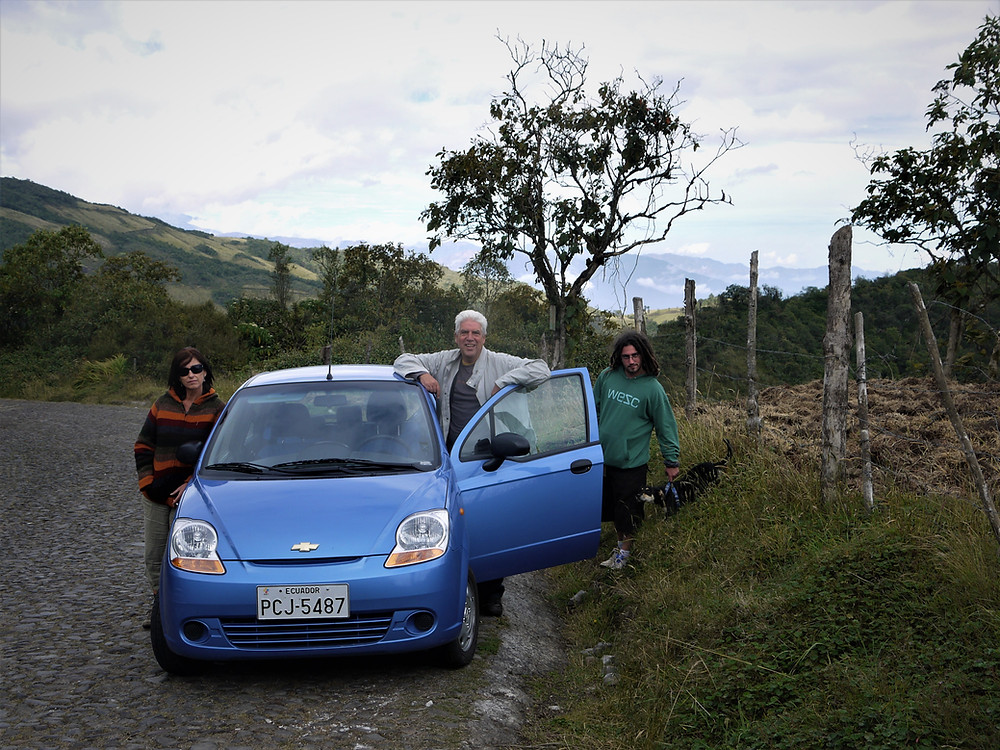 Rent a car and travel Ecuador with your dog