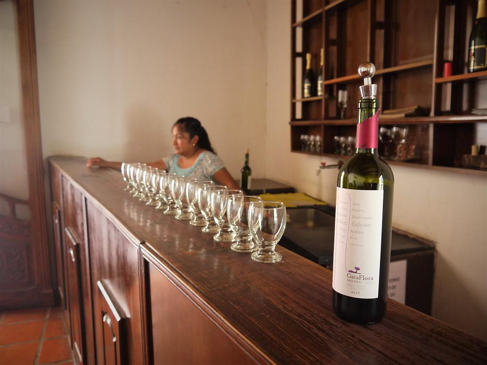 Viva el vino argentino Cafayate