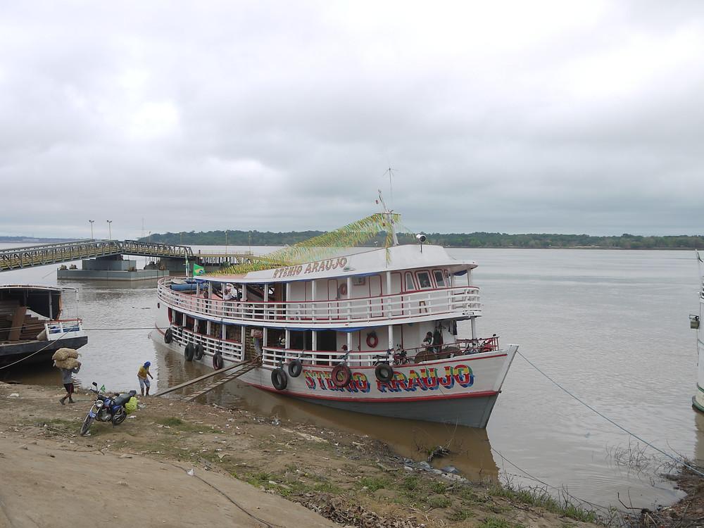 Boat trip Amazon river