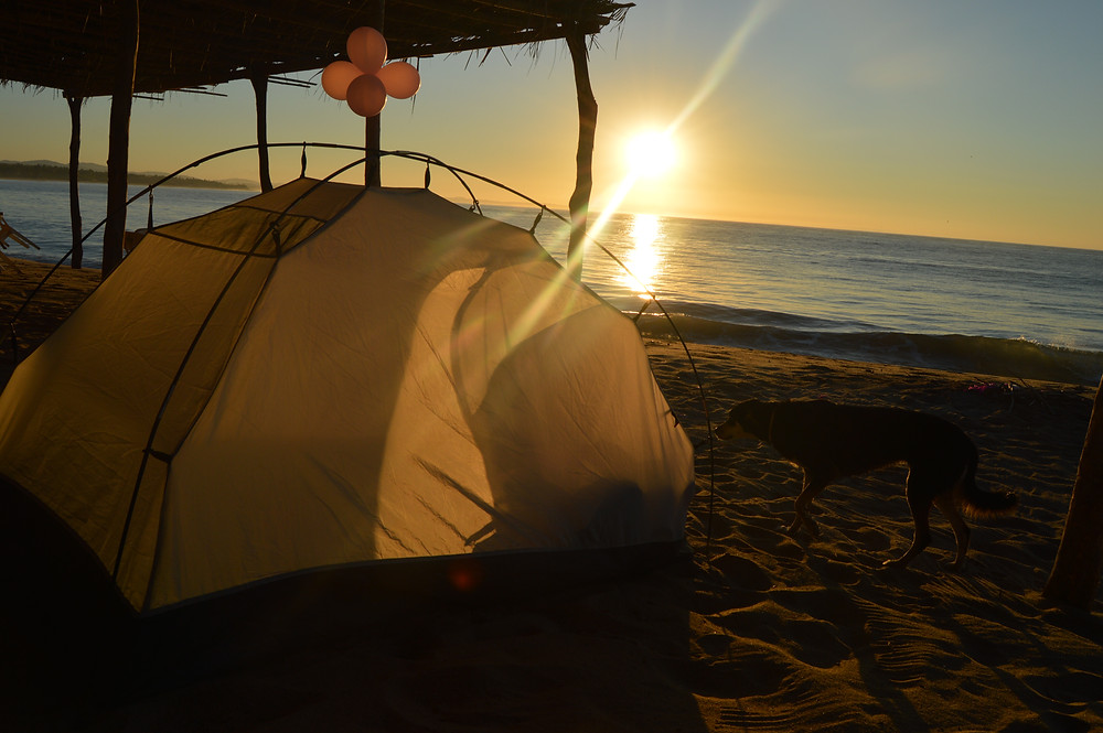 Travel with your tent