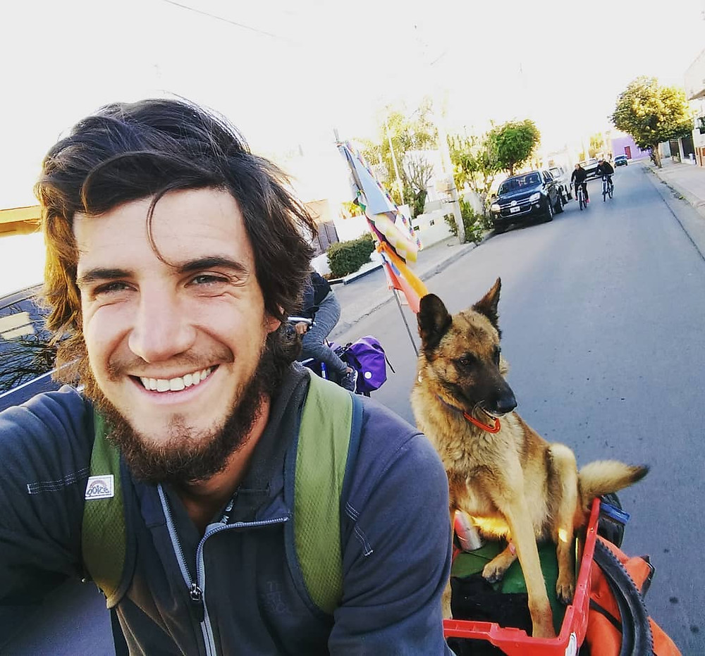 Rodar tierra Traveling with dog Argentina Chile