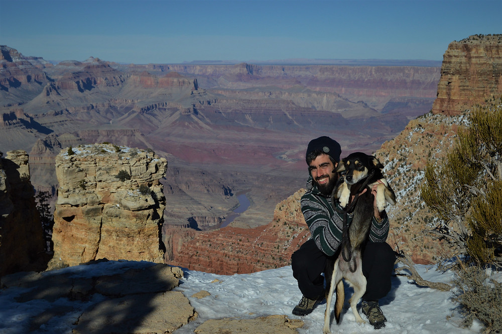 Grand Canyon NP with my dog