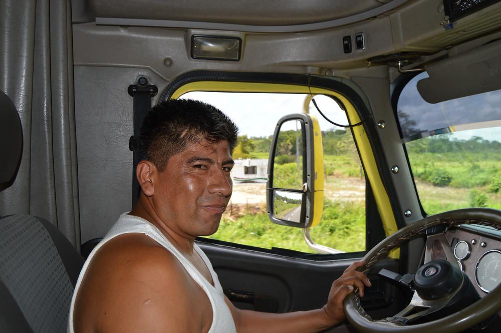 Truck ride Mexico