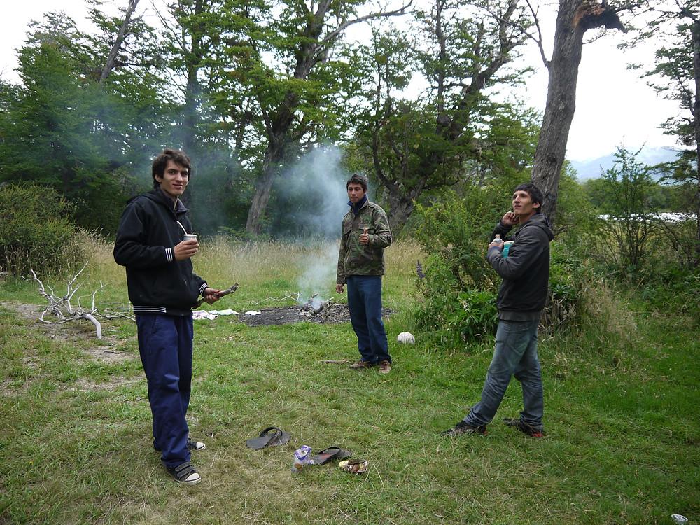 Ritual de mate Argentina