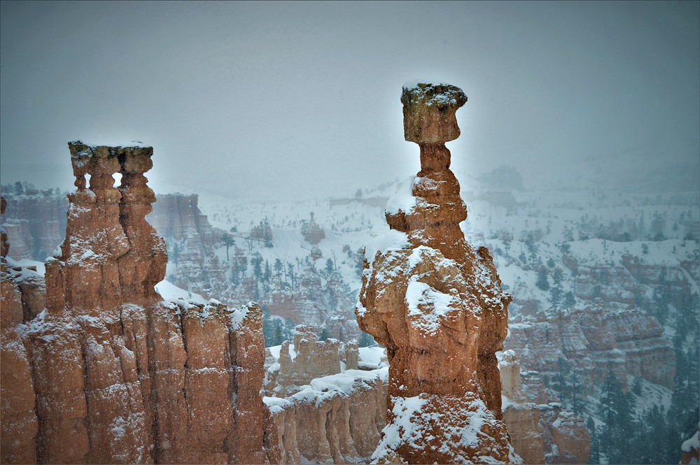Bryce Canyon National Park winter time