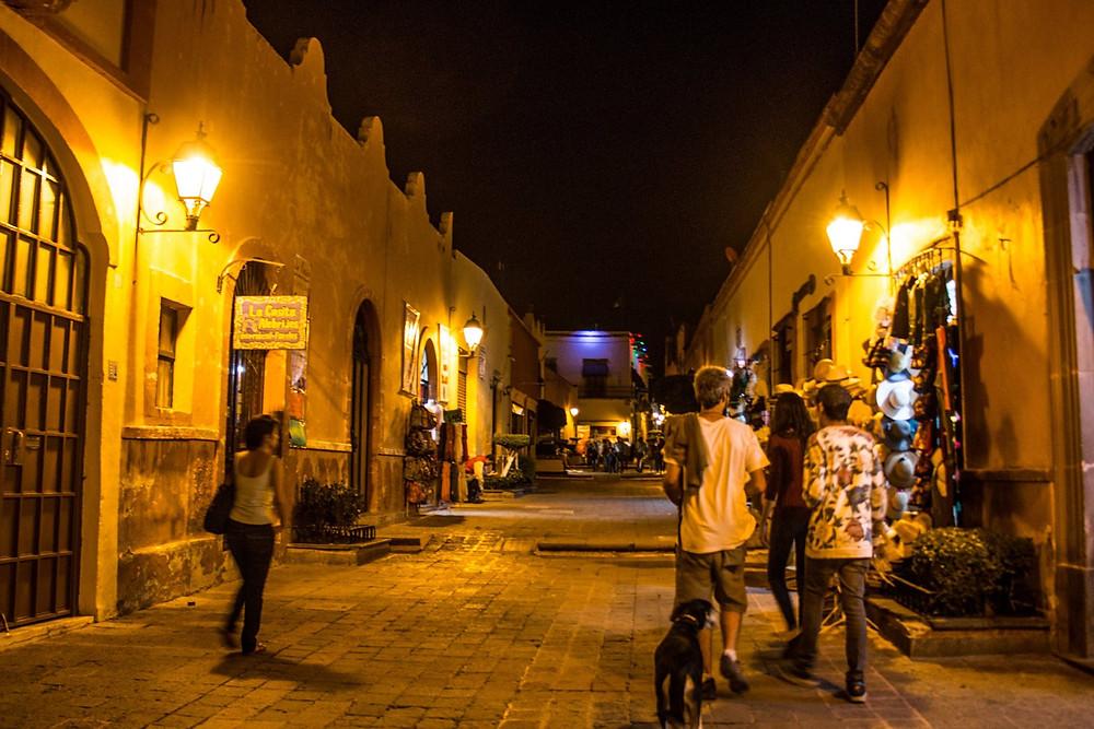 Queretaro city night