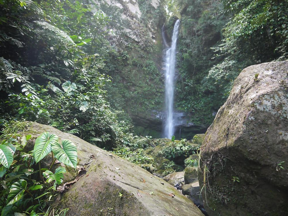 Ahuashiyacu waterfall Tarapoto Peru