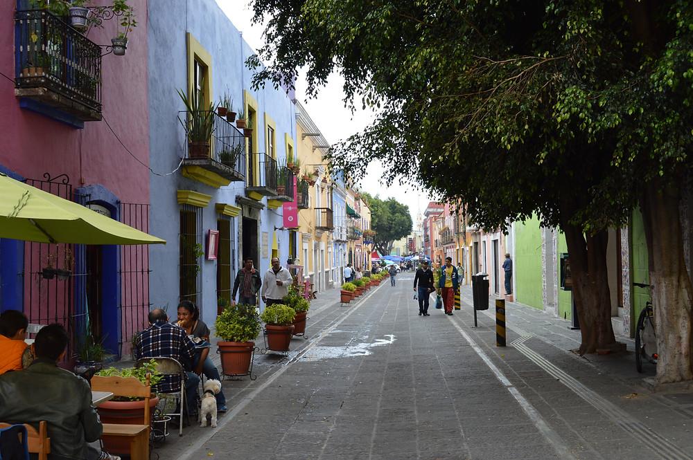 Puebla streets