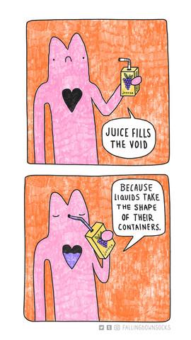 Juice Fills the Void