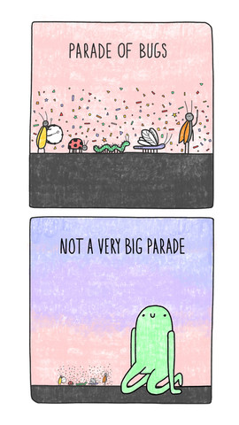 Parade of Bugs