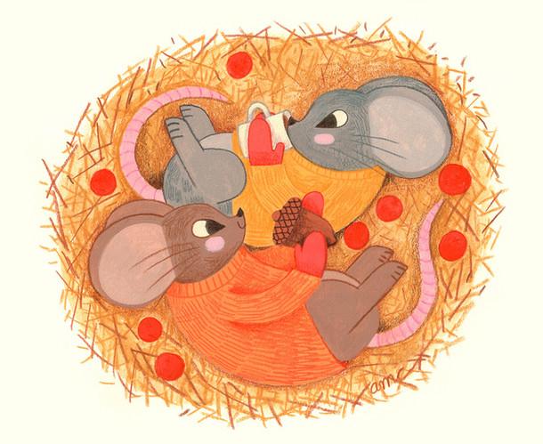mice-in-hay