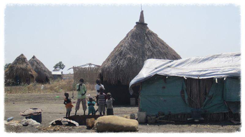 Children in village