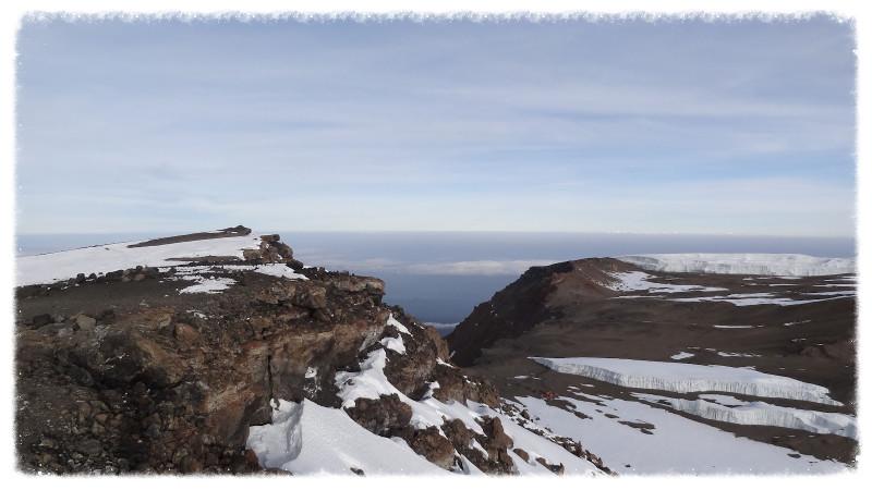 View from Uhuru Peak