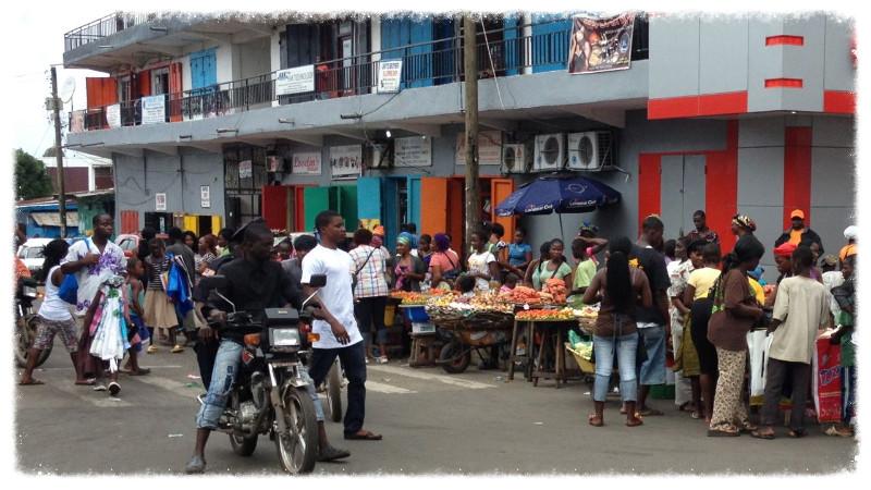 Saturday downtown street market