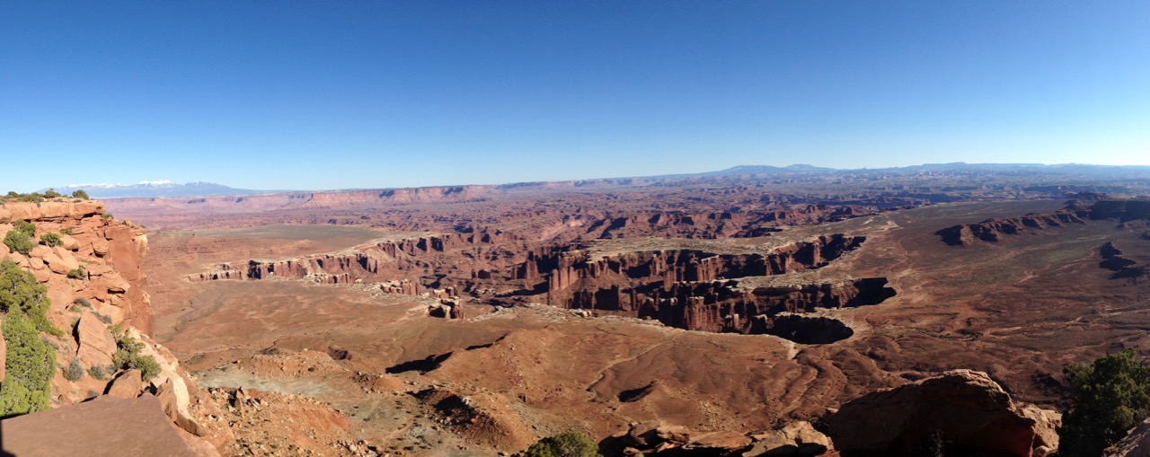 Panorama - Grandview Point Overlook - Canyonlands National Par