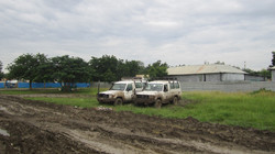 ARC Malakal vehicle fleet - Olivia & Betty - Malakal, S Sudan