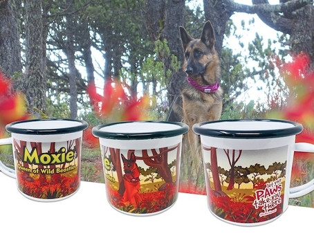 The Personalized My Pup Goes Camping Mug