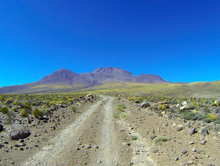 CHILE Volcán Láscar Loop in Atacama