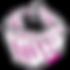 Abstract icon of dog bandana