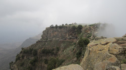 Hiking above Lalibela, Ethiopia
