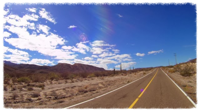 Highway from Bahia de los Angeles