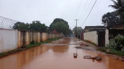 24th Street flooded - Monrovia, Liberia