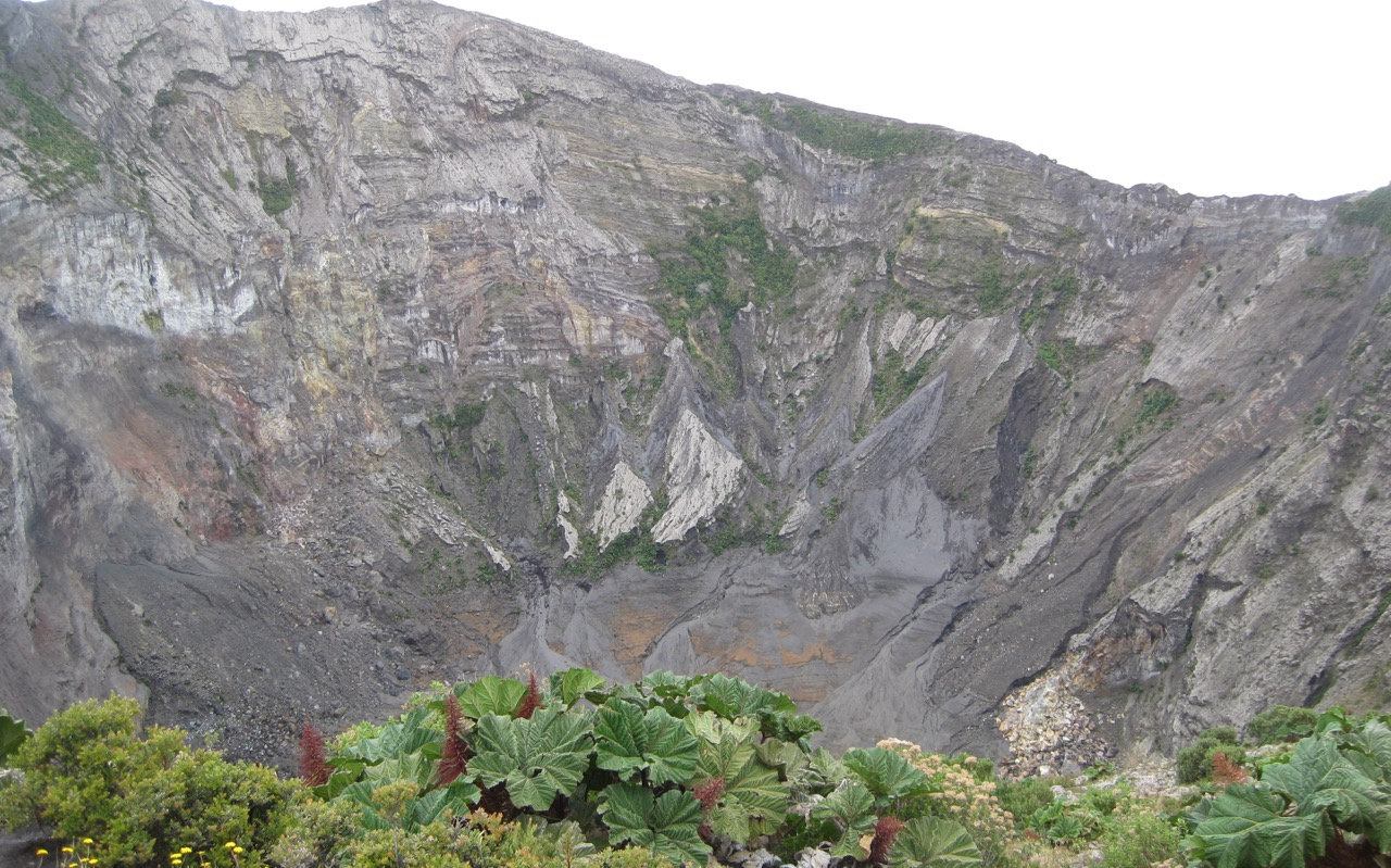 Main crater-Parque Nacional Volcán Irazu