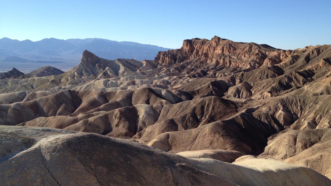 Zabriskie Point, Death Valley National Park, CA, USA