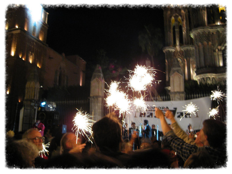 New Year's Eve in San Miguel de Allende